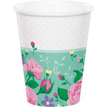 Floral Party Cups