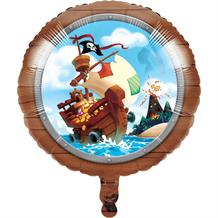 "Pirate Treasure 18"" Foil 