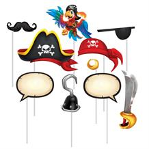 Pirate Treasure Photo Booth Party Props