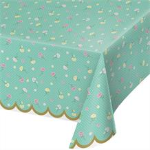 Floral Fairy Sparkle Party Tablecover | Tablecloth