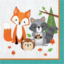 Wild Woodland Animals Party Napkins | Serviettes