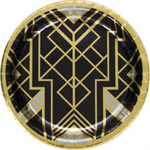 1920's Roaring Twenties Party 26cm Large Party Plates