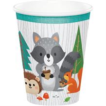 Wild Woodland Animals Paper Party Cups
