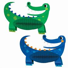 Alligator | Crocodile Party Honeycomb Table Centrepiece | Decoration