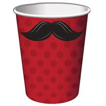 Moustache Party Cups