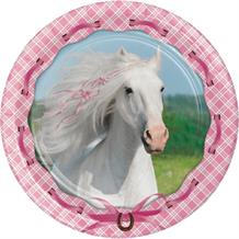 Heart My Horse 18cm Party Dessert | Cake Plates