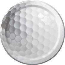 Golf Party Cake Plates