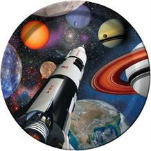 Space Rocket | Planets Party Plates