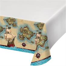 Pirate Map Party Tablecover | Tablecloth