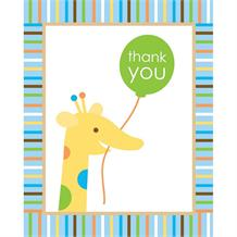 Sweet at One | 1st Birthday Boy Thank You Cards