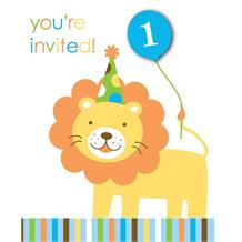 Sweet at One | 1st Birthday Boy Party Invitations | Invites
