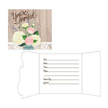 Rustic Wedding Party Invitations | Invites