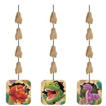 Dinosaur Blast | T-Rex Party Hanging Swirl Decorations