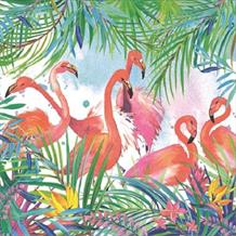 Flamingo | Tropical Party Napkins | Serviettes