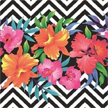 Tropical Flowers Party Napkins | Serviettes