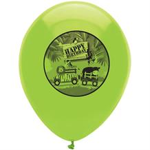 Safari Animal Party Latex Balloons