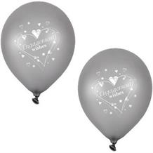 Engagement Silver Party Latex Balloons