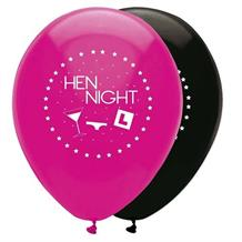 Hen Night Party Latex Balloons