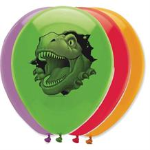 Dinosaur Blast Party Latex Balloons