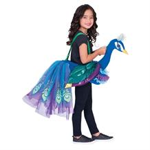 Peacock Childrens Ride on Dress Up Costume