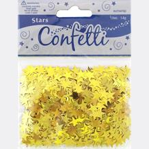 Gold Stars Party Table Confetti | Decoration