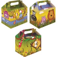 Jungle Party Card Favour | Food Box