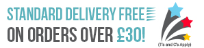 Free Delivery on UK orders over £30