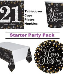 Ready to Order Age Milestone Party Packs & Kits | Party Save Smile