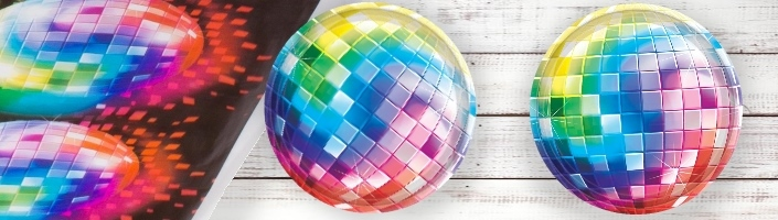 1970's Disco Fever Party Supplies | Balloon | Decoration | Pack