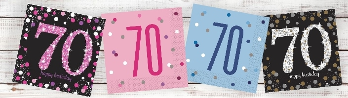 70th Birthday Party Ideas Buy Online Today