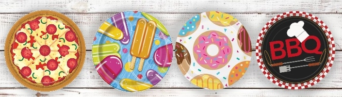 Food Themed Party Supplies | Ranges | Ideas | Packs