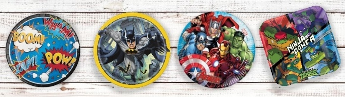 Childrens Superhero Party Supplies | Ranges | Ideas | Packs