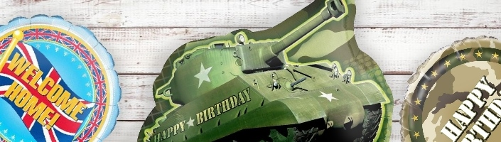 Army Military Party Balloons