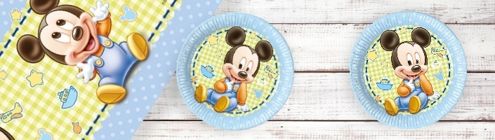 Baby Mickey Mouse Party Supplies | Balloons | Decorations | Packs