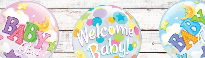 Baby Shower Bubble Balloons | Party Save Smile