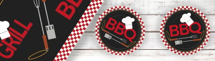BBQ | Barbecue Themed Party Supplies | Ranges | Ideas | Packs