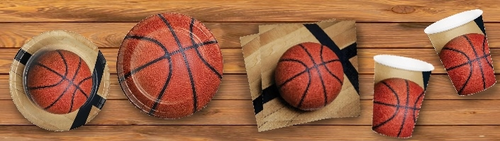 Basketball Party Supplies & Packs | Party Save Smile
