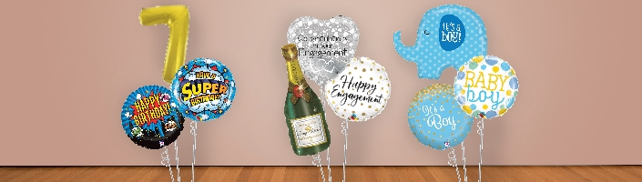 Birthday and Special Occasion Balloon Packages | Party Save Smile