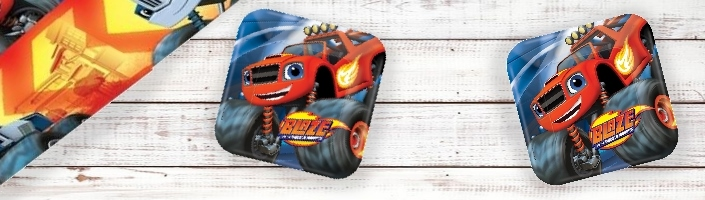 Blaze & the Monster Machines Party Supplies | Balloons | Decorations | Packs