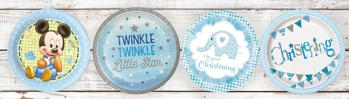 Boys Christening Party Themes | Supplies | Packs | Ideas - Party Save Smile