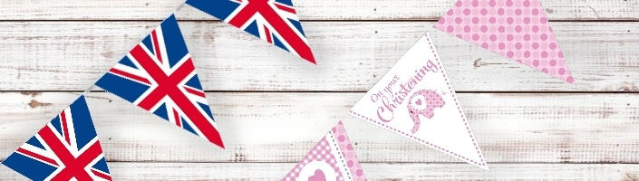Bunting | Flag Banner Decorations - Party Save Smile