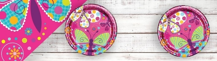 Free Postage in UK Envelopes 8 Invites Butterfly Sparkle Birthday Party