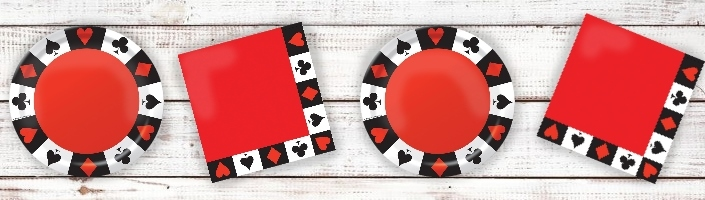 Casino Themed Party Supplies | Decorations | Ideas | Packs
