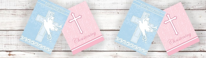 Christening Party Invitations | Invites - Party Save Smile