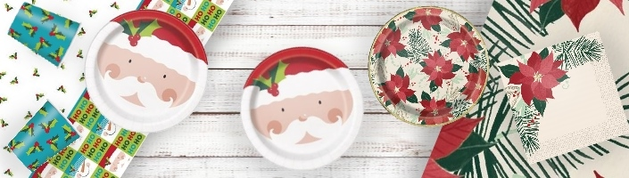 Christmas Themed Party Supplies & Packs | Party Save Smile