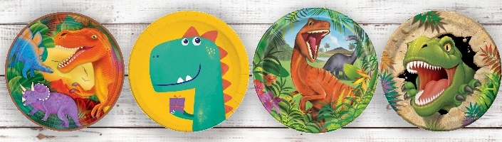 Dinosaur Themed Party Supplies | Decorations | Packs | Ideas