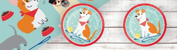 Dog Party Supplies | Decorations | Balloons