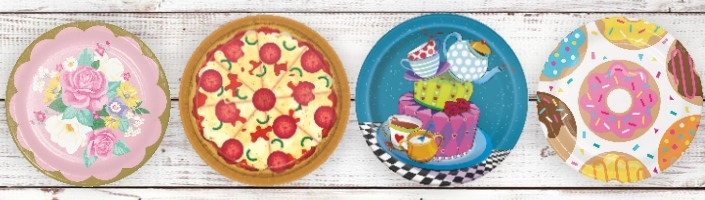 Food & Cake Themed Party Supplies | Ranges | Ideas | Packs