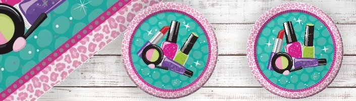 Spa Make-Up Party Supplies | Balloons | Decorations | Packs