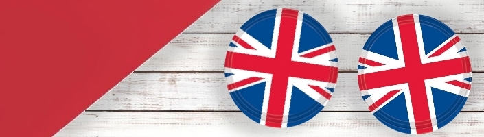 Great Britain | Union Jack Party Supplies | Balloon | Decoration | Pack